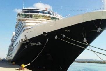 El crucero turístico Eurodam visitó Mazatlán