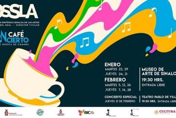 Este martes Café Concierto y expo-venta artistas Oaxaqueños – Cine en la Sala Lumiére