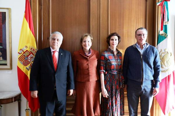 Quirino Ordaz Reunión España Turismo 2019 2