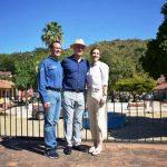 El Gobernador de Sinaloa Quirino Ordaz Coppel visita el Pueblo Señorial de Copala Concordia