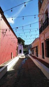 San Ignacio de Loyola Pueblo Señorial Sinaloa México 2019 Callejón del Beso