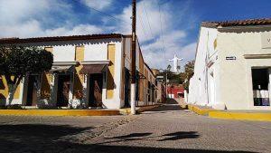 San Ignacio de Loyola Pueblo Señorial Sinaloa México 2019 Cristo de la Mesa