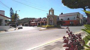 San Ignacio de Loyola Pueblo Señorial Sinaloa México 2019 Entrada