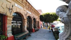 San Ignacio de Loyola Pueblo Señorial Sinaloa México 2019 Museo Regional