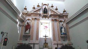 San Ignacio de Loyola Pueblo Señorial Sinaloa México 2019 Templo San Ignacio de Loyola 1