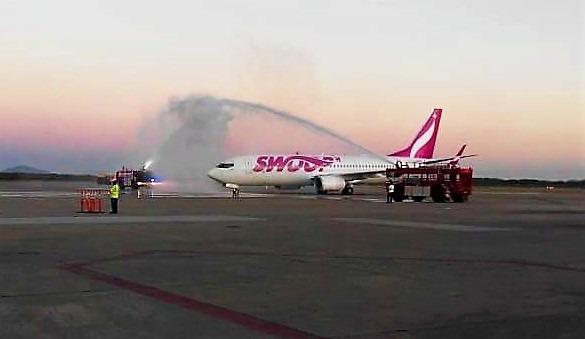 aerolínea Swoop