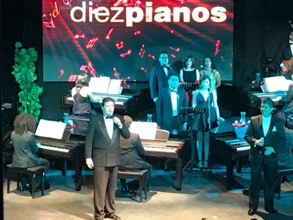diez pianos