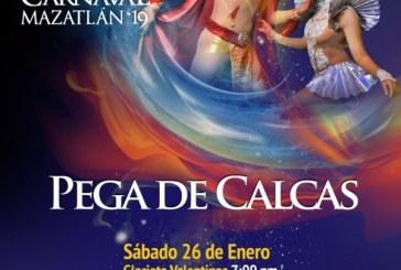 Calcas de Promoción del Carnaval de Mazatlán 2018