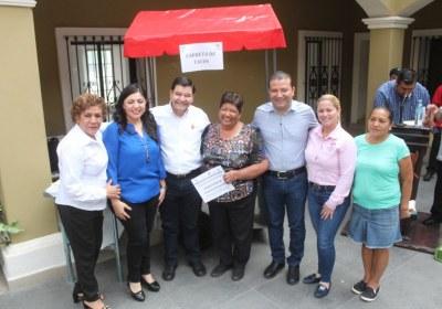 1- Entrega de equipos productivos en San Ignacio