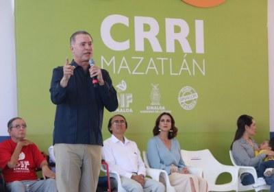 1- Inauguración del nuevo Centro de Rehabilitación Integral de Mazatlán