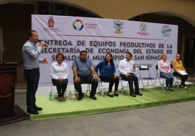 11- Entrega de equipos productivos en San Ignacio