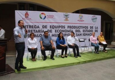 12- Entrega de equipos productivos en San Ignacio