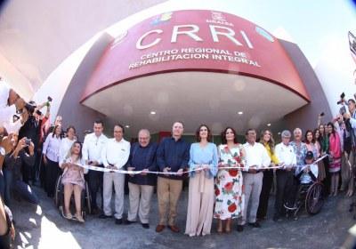 14- Inauguración del nuevo Centro de Rehabilitación Integral de Mazatlán