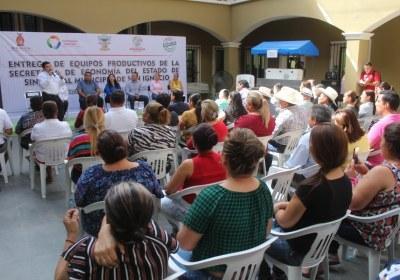2- Entrega de equipos productivos en San Ignacio