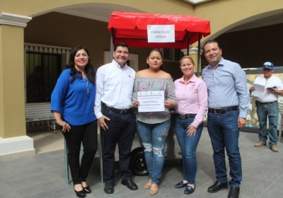 5- Entrega de equipos productivos en San Ignacio