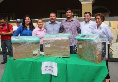 6- Entrega de equipos productivos en San Ignacio