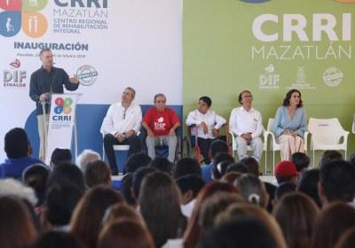 8- Inauguración del nuevo Centro de Rehabilitación Integral de Mazatlán