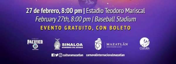 80 Aniversario Banda El Recodo 2019 Carnaval