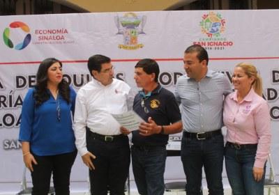 9- Entrega de equipos productivos en San Ignacio
