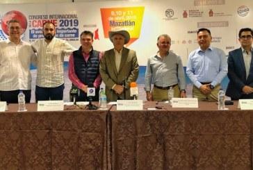 Mazatlán Sede del 10mo. Congreso Internacional de la Carne 2019