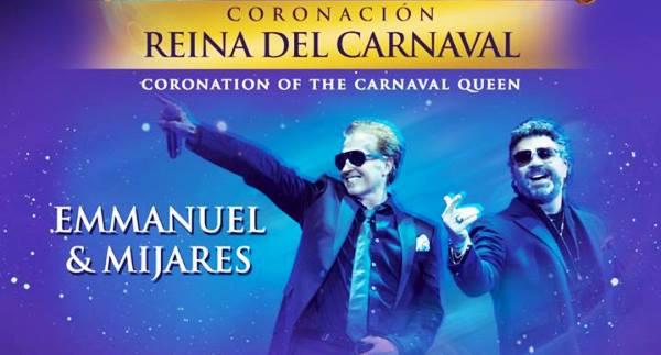 Coronaciòn Reina del Carnaval de Mazatlàn Mijares y Emmanuel 2019 1