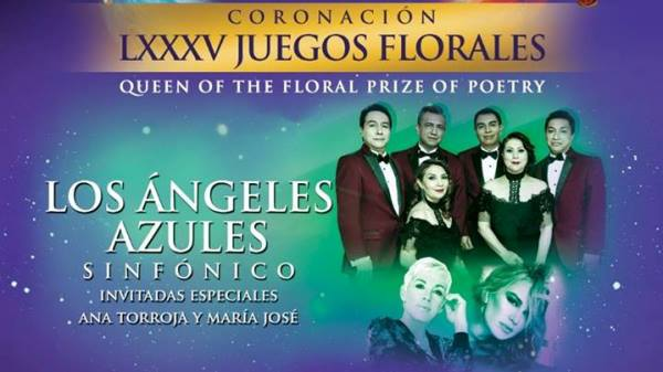 Coronación Reina de los Juegos Florales Ángeles Azules Mazatlán Canaval 2019