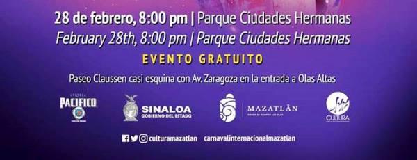 Coronación Rey de la Alegrìa Carnaval de Mazatlán 2019 1