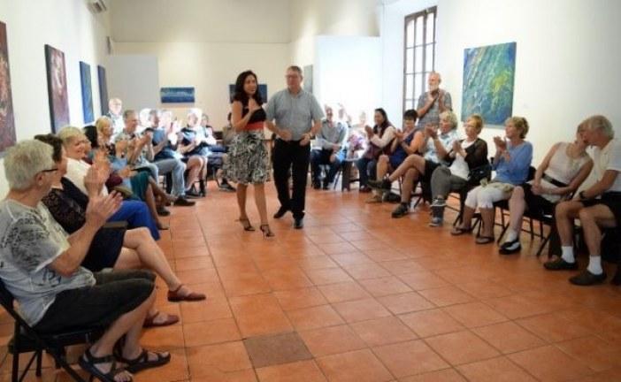 Muestra de tango