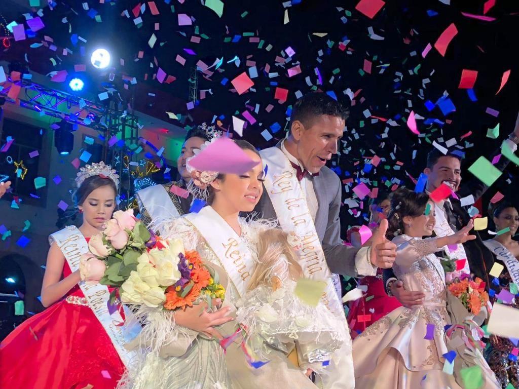 Dania Zatarain Reina Infantil Roberto Tirado Rey Alegría Carnaval Mazatlán 2019 a