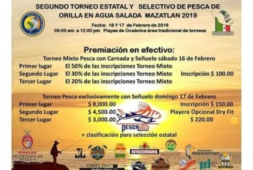 Torneo Estatal de pesca
