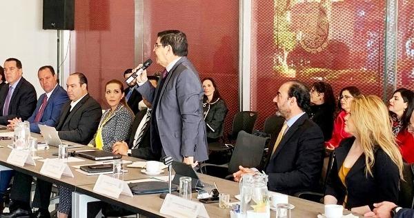Javier Lizárraga SE Sinaloa Asociación Mexicana de Secretarios Desarrollo Económico Secretaria Economía Federal Graciela Márquez Colín 2019 1