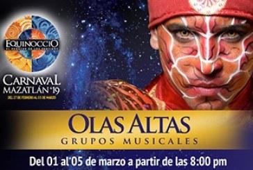 20 agrupaciones se presentarán en Olas Altas.