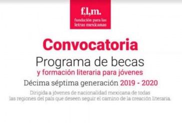 Convocatoria 2019-2020 del Programa de Becas y Formación Literaria