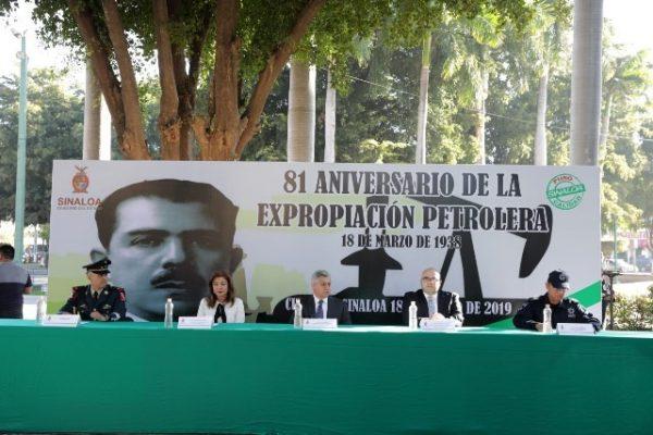 el 81 aniversario de la Expropiación Petrolera
