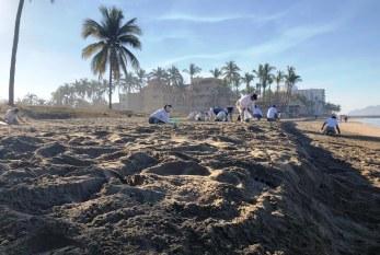 La cadena hotelera de Mazatlán realiza Carnaval de Limpieza en playas