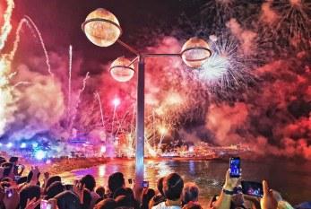 Espectacular Combate Naval del Carnaval de Mazatlán 2019