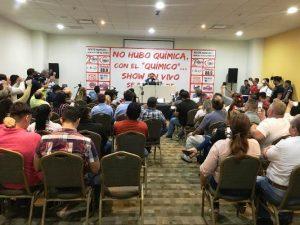 Felipe Silva Conferencia de Prensa Despedida de Mazatlán ante temoR al Alcade Benítez Torres 2019 MIC 3