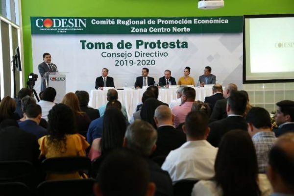 toma de protesta codesin