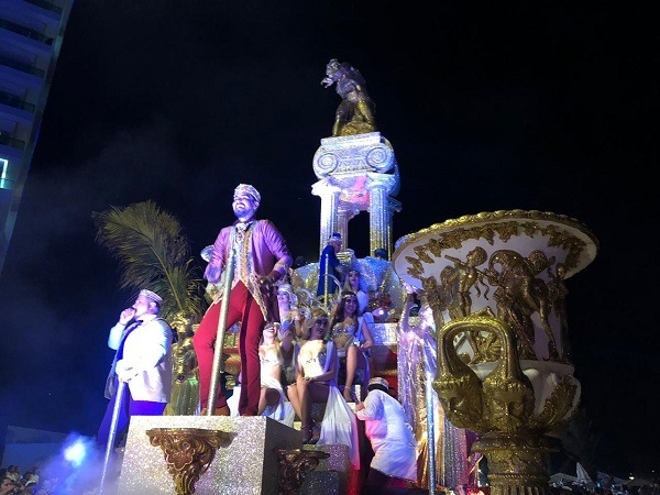 Primer Gran Desfile del Carnaval de Mazatlán 2019 Serie A 8