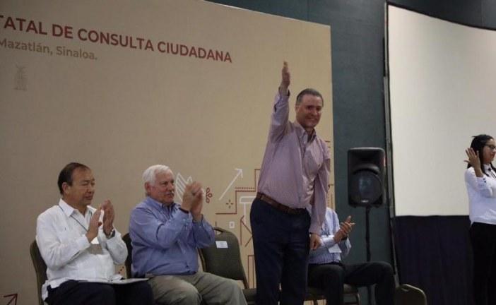 Sinaloenses contribuyen con sus propuestas al Plan Nacional de Desarrollo 2019-2024