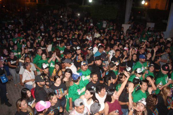 El Pueblo Señorial de San Ignacio se desborda en fiesta y fe religiosa en Semana Santa 2019 Tamboreada