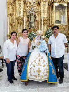 Familia Angulo Beníotez En el Santuario Mariano de Nuestra Señora del Rosario El Rosario Pueblo Mágico Sinaloa México Abril 2019 1
