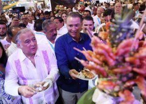 Inauguración Pabellón de Sinaloa en el Tianguis Turístico de México Acapulco 2019 (12 p)