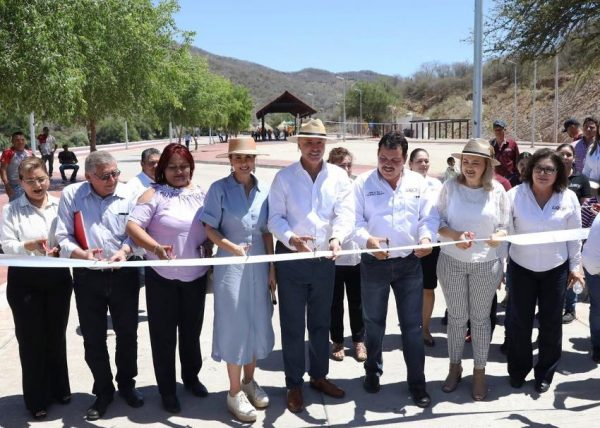 Inauguración Parque Lineal Choix 2019