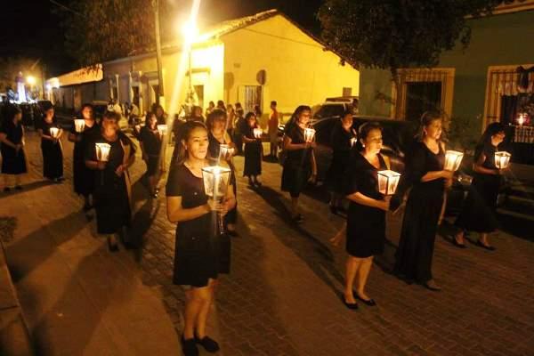 Iván Báez Martínez Presidente de San Ignacio Informe Cuatro Meses e Invitacion Fiestas Semana Santa Pascua 2019 Procesión 1