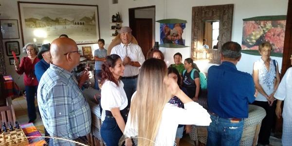 Museo Estudio Alas & Raíces Salvador Herrera Mazatlán Inauguración Centro Histórico Hotel Machado 2019 6