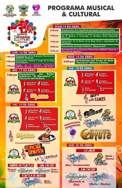 Programa Musical y Cultural Semana Santa San Ignacio 2019
