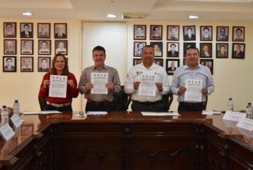 firma de Convenio de Colaboración Turística entre los municipios hermanos de Elota, Cosalá y San Ignacio