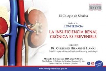 Conferencia sobre prevención de la insuficiencia renal