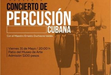 Concierto de Percusión Cubana